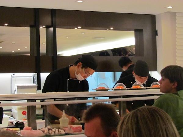 Wa Sushi: ambiente limpo e bonito. Higiene também impressiona.