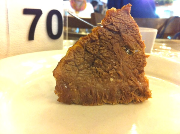 Rodízio de carnes: cupim
