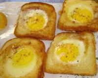A reinvenção do pão com ovo