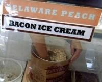 Dia do Sorvete e receita de Sorvete com Bacon