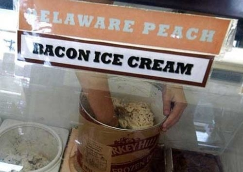 bacon-sorvete