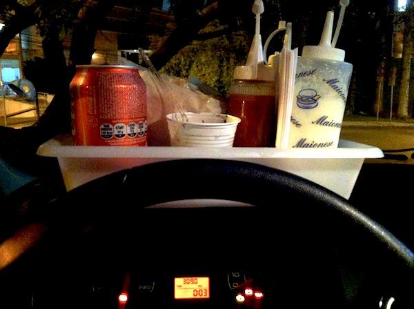 Drive-in: conforto e comodidade.