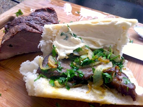 Sanduíche de Roast Beef
