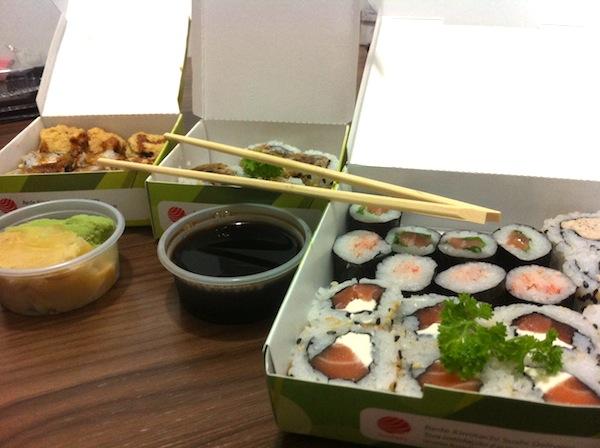 Sushi e hotsushi