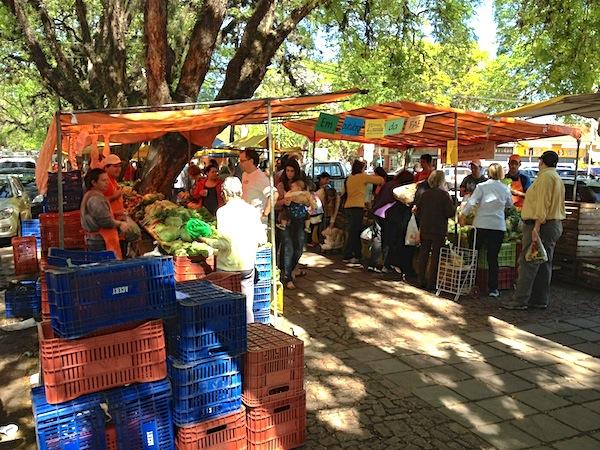 Feira Ecológica da Redenção, em Porto Alegre