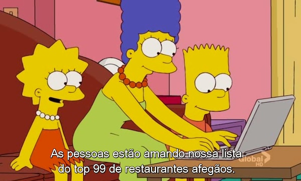 The Simpsons S23E05, The Wife Foodie