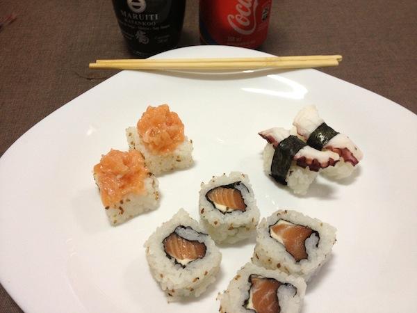 Mais sushi
