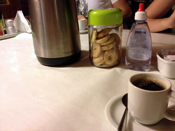 Café e bolachinhas