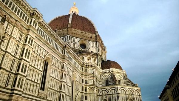 Duomo - Igreja de Santa Maria Del Fiore, em Firenze, Itália. Foto feita e enviada por Ricardo Schwinn Rodrigues