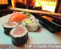 TOP 5 Sushi Floripa, terceira edição: os melhores sushis de Floripa